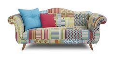 Fairground Patch 3 Seater Sofa Fairground Patch | DFS