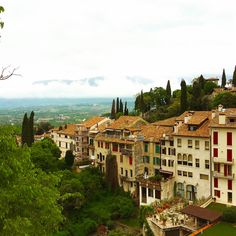 3 Totally Unexpected Things I Discovered On My Italy Vacation | panoramic vista in Asolo, Italy