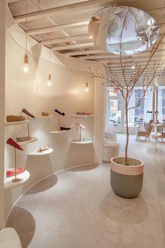 Josefinas Portugal Nolita boutique in New York by Christian Lahoude Studio