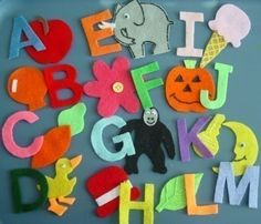 Alphabet Children's Flannel Board Felt Set by FunFeltStories, $24.00