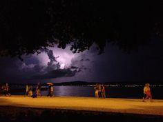 lightning - Zadar - Croatia