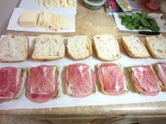 Italian Pressed Picnic Sandwiches   Love to be in the Kitchen