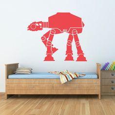 LEGO star wars ATAT Vinyl wall art sticker by NSVINYLS on Etsy