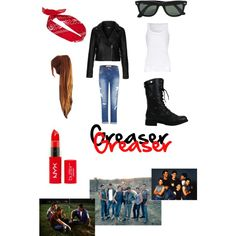 Pix For > The Outsiders Girls Outfits