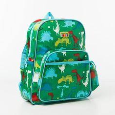 Dinosaur Backpack, preschool size. Adairs kids.
