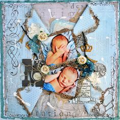Layout by Shona Keehn using our December KOM