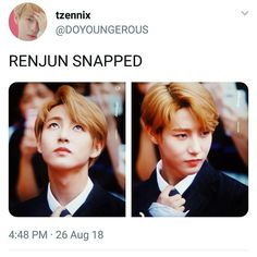 Sis he did Nct U Members, Nct Dream Members, Taeyong, Jaehyun, Huang Renjun, Sm Rookies, Kpop Groups, Nct 127, Monsta X