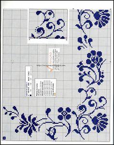 Amor-Perfeito-Amor: gráfico ponto cruz flores