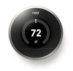 The Nest: A High-Tech Money-Saver for Your Home, Which I Just Installed Myself Cool Technology, Nest Thermostat, Home Automation, Smart Home, Pine Tree, Screen Shot, Sick, Wave, Middle
