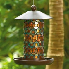 Marrakech Mosaic Bird Feeder $49.95