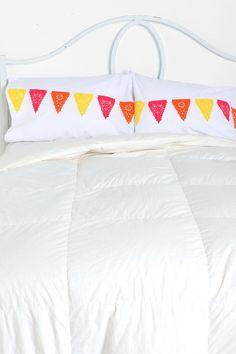 Papercut Flag Pillowcase - Set of 2