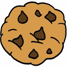 chocolate chip cookie clipart cliparts zone tattoo ideas rh pinterest com