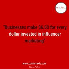 Are you investing in #Influencer Marketing? #SocialMedia