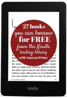 Amazon Prime members can borrow one book a month for free, but finding a good book among their offerings is like looking for a needle in a haystack. Here's a curated list of 27 great books you can borrow for FREE from the Kindle lending library (with Amazon Prime)