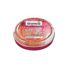 Balea Face and Body Cream I Take Care Of You 30 ml (Balea Pflegecreme I Take Care Of You) Limited edition! The cream of Balea will take care of your body, face Take Care Of Your Body, Take Care Of Yourself, Dm Balea, Take My, Face And Body, German, Cosmetics, French, Cream