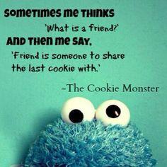 Vive Cookie Monster!