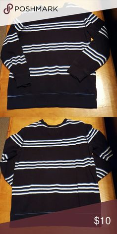 Old Navy boys sweater Like new. Barely worn. Blue striped boys sweater. No stains or holes. Comes from smoke free and pet free home! Old Navy Shirts & Tops Sweaters