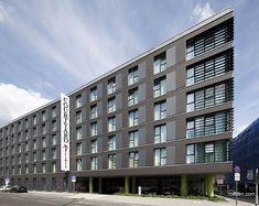 Röben Klinker, Bricks    Hotel Courtyard Marriott, Köln   Klinker: FARO schwarz-nuanciert   KKP Planungs- und Baubetreuungsgesellschaft mbH   Foto: Cornelia Suhan