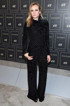 Diane Kruger bei der Modenschau von Balmain x H&M
