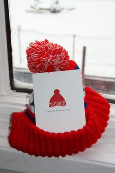 A valentine card for the winter lovers.    Your love keeps me warm.