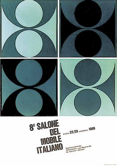 8º Salone Internazionale del Mobile (1968) how do i decide duck egg or blue grey? duck it.