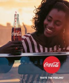 The music melodies on Taste The Feeling will further light up your desire for Coca Cola-Coke again, as the instrumentals were led heavily by strumming symp