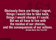 brook davis quotes | Brooke Davis...love that girl