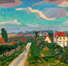 Spencer Gore - Letchworth, The Road (1912)