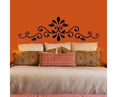 Painted Headboard for the guest bedroom