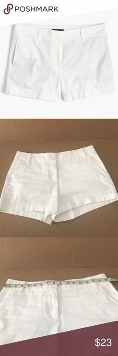 J. Crew Chino shorts J. Crew Chino white shorts. Excellent condition. 100% cotton. See pics for measurements! No trades! Offers welcome!           STO47 J. Crew Shorts