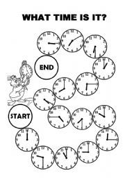 how to teach esl students to tell time