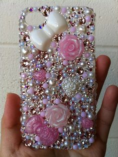 Decoden pink girly iphone case I want to make them so bad ! Girly Phone Cases, Cell Phone Covers, Diy Phone Case, Iphone Cases, Iphone 4s, Decoden Phone Case, Coque Iphone 6, Cool Cases, Iphone Accessories