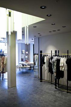 Dimore Studio, By Malene Birger Antonigade Coenhagen K, Denmark Rack Design, Malene Birger, Studio, Copenhagen, Denmark, Shopping, Furniture, Retail, Home Decor