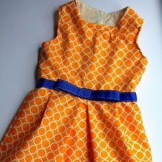 oh jackie, 60's retro-style girls' dress pattern (free)