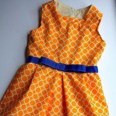 oh jackie, 60's retro-style girls' dress pattern (free)