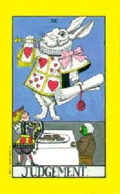 Judgement - Wonderland Tarot.