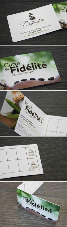 Carte De Fidlit Imagine Pour Destination Bien Tre Institut Beaut