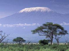 trying to climb Mt Kilimanjaro & Amboseli National Park - Kenya, Africa Best Places To Camp, Places To Travel, Places To Visit, Places Around The World, Travel Around The World, Around The Worlds, Monte Kilimanjaro, Beautiful World, Beautiful Places