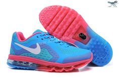 SkyBlue White Pink Kids Shoes Nike Air Max 2014 Kids