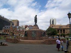 Kerkplein  Pretoria   oom Paul Kruger