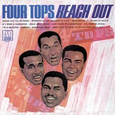 The Four Tops - Reach Out on Limited Edition Import 180g LP