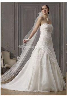 vend robe de marie modle tytha de chez point mariage la robe est vendu avec - Point Mariage La Rochelle