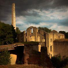 Ruins of old factory in Kunda, Estonia by Dmitri Korobtsov