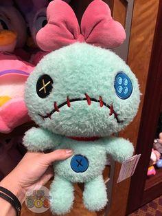New & Exclusive at Tokyo Disney Resort - Fluffy Plush - Scrump Lilo E Stitch, Cute Stitch, Disney Stuffed Animals, Cute Stuffed Animals, Peluche Stitch, Disney Website, Disney Rooms, Disney Aesthetic, Tokyo Disney Resort