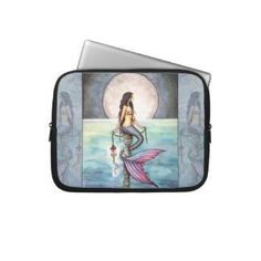 Mermaid Laptop Sleeve $29.95 www.mermaidhomedecor.com