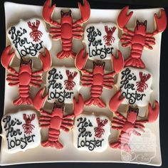 He's Her Lobster, Friends Engagement Bridal Shower Cookies Friends Themed Wedding, Friend Wedding, Our Wedding, Dream Wedding, Purple Wedding, Lace Wedding, Bachelorette Party Themes, Bachelorette Weekend, Engagement Cookies