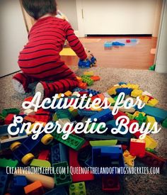 It may be cold and snowy outside, but these indoor activities for energetic kids this winter are creative, frugal and so fun. Fun for both Boys and girls.