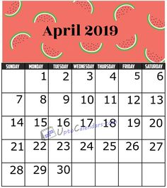 April 2019 Calendar Printable Template with Holidays PDF Word Excel Lowes Promo, 2019 Calendar, Wall Cladding, Event Photographer, Budgeting, How To Make Money, Like4like, Projects To Try, Printables