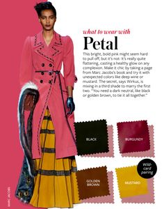 What to wear with PETAL