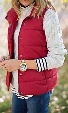 Winter Time - Love the Vest!